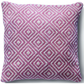 Hug Rug Woven Cushion | Diamond Coral Pink