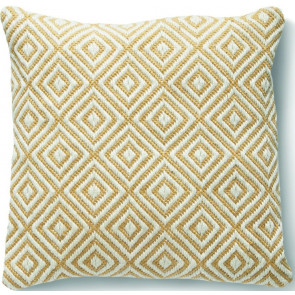 Hug Rug Woven Cushion | Diamond Gold