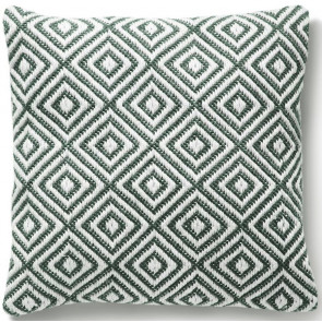 Hug Rug Woven Cushion | Diamond Warm Grey