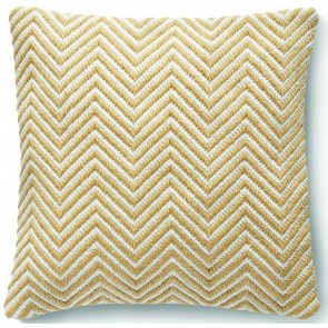 Hug Rug Woven Cushion | Herringbone Gold