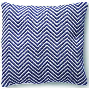 Hug Rug Woven Cushion | Herringbone Navy
