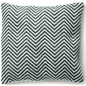 Hug Rug Woven Cushion | Herringbone Warm Grey