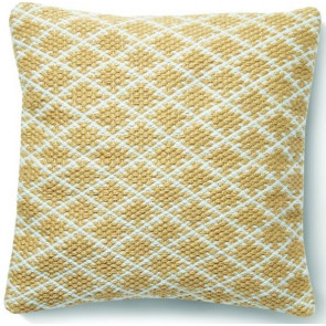 Hug Rug Woven Cushion | Trellis Gold