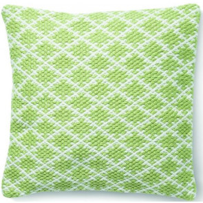 Hug Rug Woven Cushion | Trellis Green