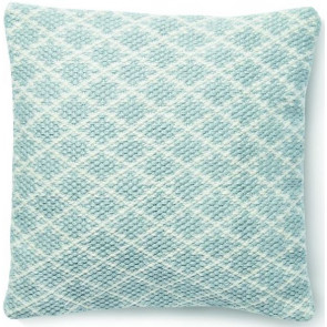 Hug Rug Woven Cushion | Trellis Sky Grey