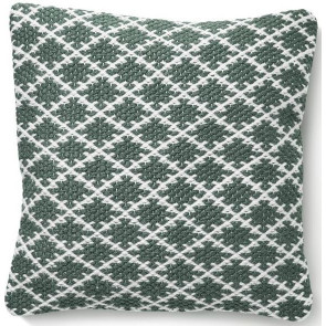 Hug Rug Woven Cushion | Trellis Warm Grey