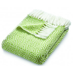 Hug Rug Woven Throw Diamond Green