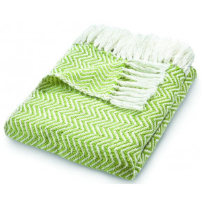 Hug Rug Woven Throw | Herringbone Green