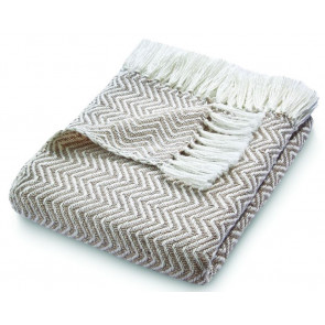 Hug Rug Woven Throw Herringbone Natural