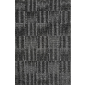 Linie Design Rug | Chess Charcoal