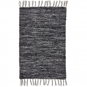 Liv Rug Handspun PET North Black