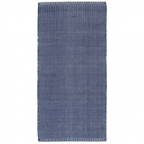 Liv Rug PET Herringbone Royal Blue