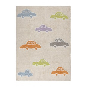 Children's Rug Cars