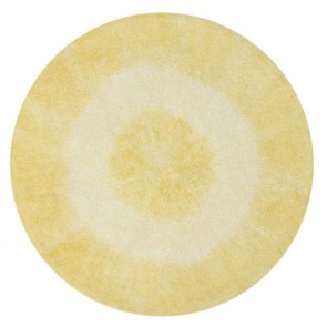 Children's Rug - Tie Dye Yellow