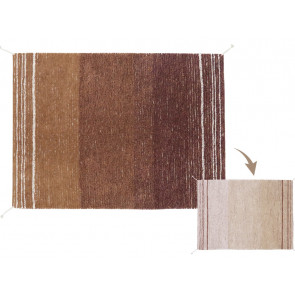 Lorena Canals Rug Reversible | Twin Toffee