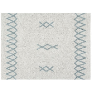 Lorena Canals Rug | Atlas Natural Vintage Blue