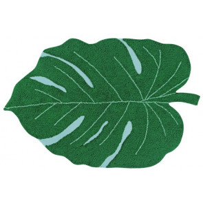 Lorena Canals Rug | Monstera Leaf