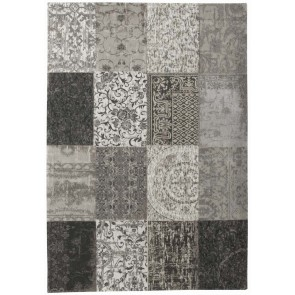 Louis de Poortere Rug Vintage Black and White