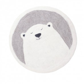 Muskhane Rug Pasu Polar Bear Light Stone