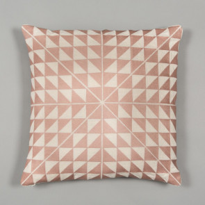 Niki Jones Cushion Geocentric Dusky Pink