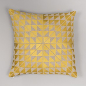 Niki Jones Cushion Geocentric Gold