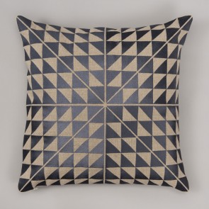 Niki Jones Cushion Geocentric Slate
