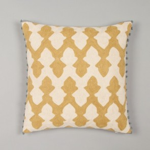 Niki Jones Cushion Lattice Chartreuse