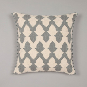 Niki Jones Cushion Lattice Pewter