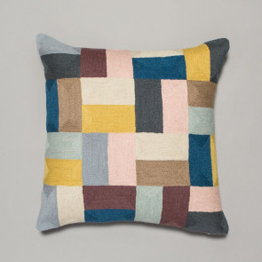 Niki Jones Cushion Pojagi Square