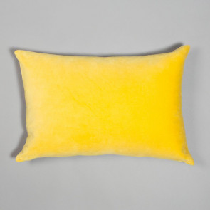 Niki Jones Cushion Velvet Chartreuse Rectangular