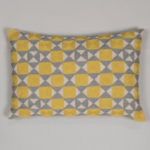 Niki Jones Cushion Zellij Chartreuse