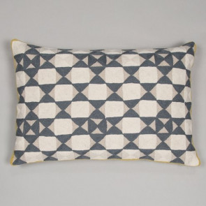 Niki Jones Cushion Zellij Slate