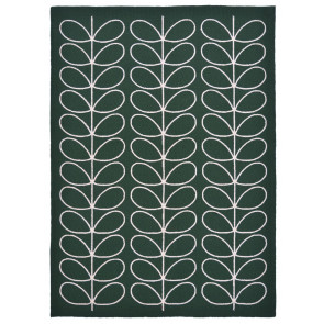Orla Kiely Rug | Indoor Outdoor | Giant Linear Stem Jade