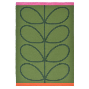 Orla Kiely Rug | Indoor Outdoor | Giant Linear Stem Seagrass