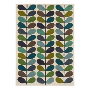 Orla Kiely Rug | Multi Stem Kingfisher 059507 | Custom Size