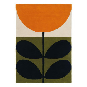 Orla Kiely Rug | Stem Black 059803 | Custom Size