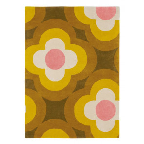 Orla Kiely Rug | Pulse Yellow 060306 | Custom Size