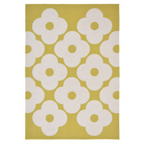 Orla Kiely Rug | Indoor Outdoor | Spot Flower Dandelion