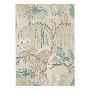 Sanderson 050701 Rain Forest Orchid Grey