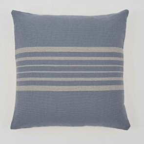 Weaver Green Cushion Antibes Blue & Linen