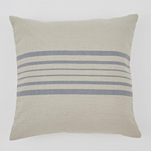 Weaver Green Cushion Antibes Linen & Blue