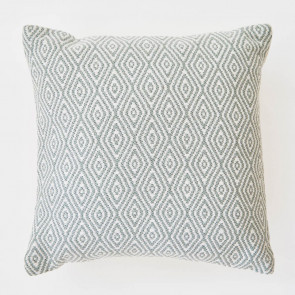 Weaver Green Cushion | Hammam Dove Grey