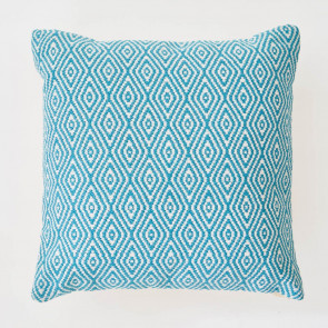 Weaver Green Cushion | Hammam Teal