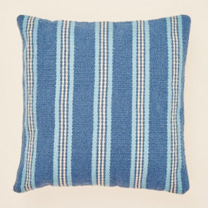 Weaver Green Cushion Henley Stripe Santorini