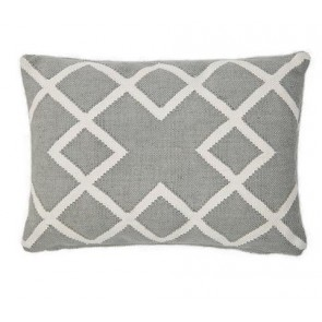 Weaver Green Cushion Juno Dove Grey Oblong
