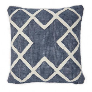 Weaver Green Cushion Juno Navy