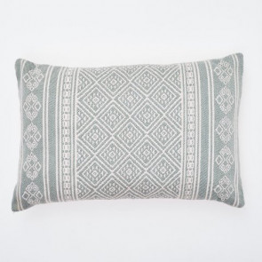 Weaver Green Cushion Kalkan Dove Grey