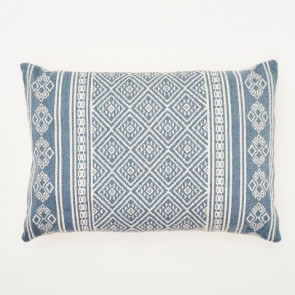 Weaver Green Cushion Kalkan Navy