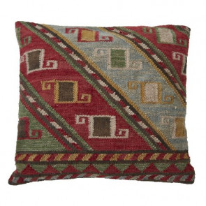 Weaver Green Cushion | Nomad Atlas