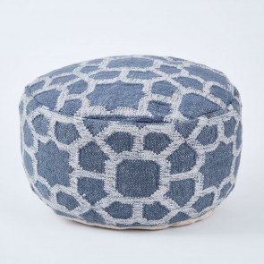 Weaver Green Footstool | Kasbah Ink